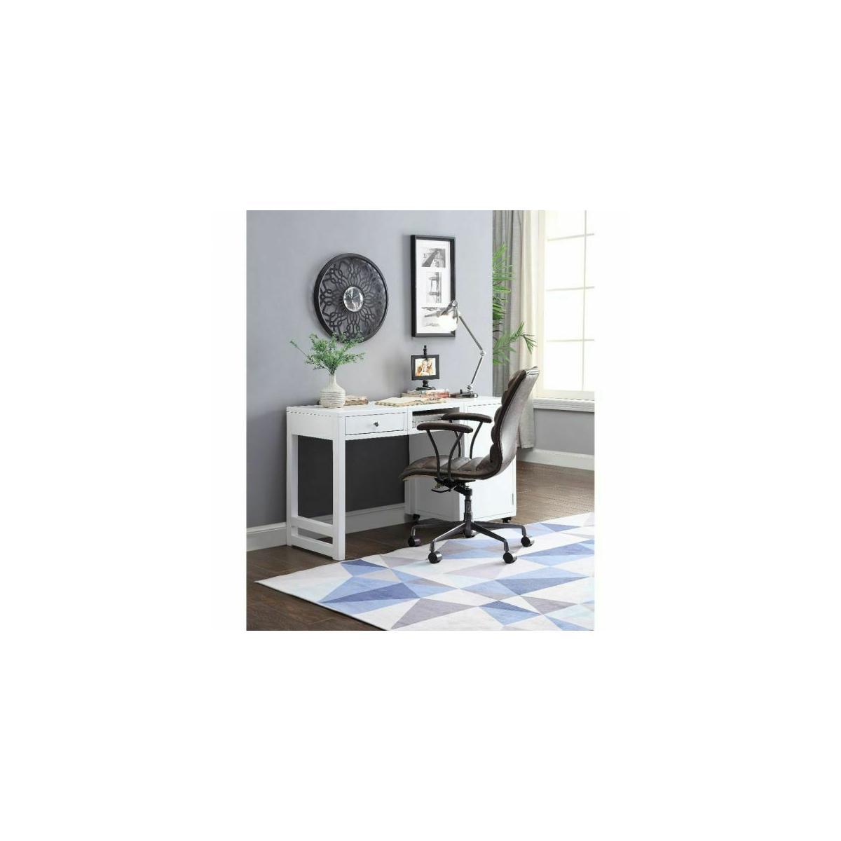 ACME Kaniel Desk (Convertible) - 92835 - White
