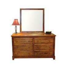 See Details - Forest Designs Shaker Six Drawer Dresser: 60W x 32H x 18D (No Mirror)