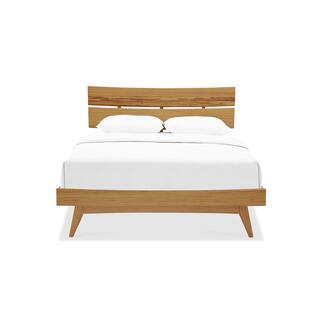 Azara Queen Platform Bed, Caramelized