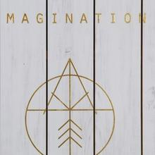 Gold Foil Imagination Drawing