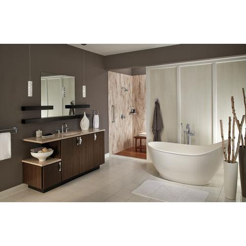 Product Image - Chrome Two Handle Widespread Bathroom Faucet