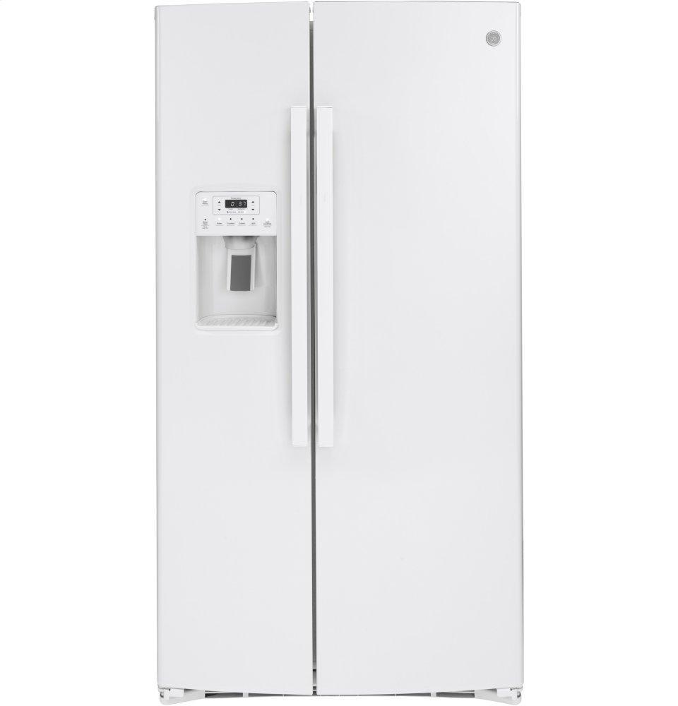 GE25.1 Cu. Ft. Side-By-Side Refrigerator