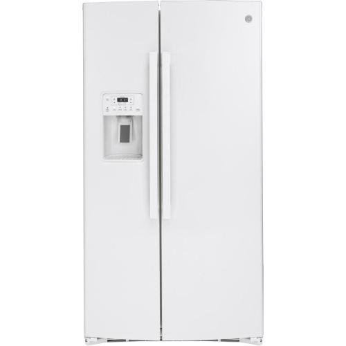 GE Appliances - GE® 25.1 Cu. Ft. Side-By-Side Refrigerator