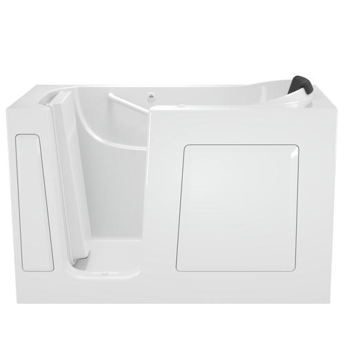 American Standard - Premium Series 30x60 Whirlpool Walk-in Tub, Left Drain  American Standard - White