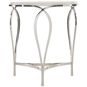 Calista Side Table in Silken Pearl (388)