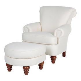 Simon Chair & Ottoman