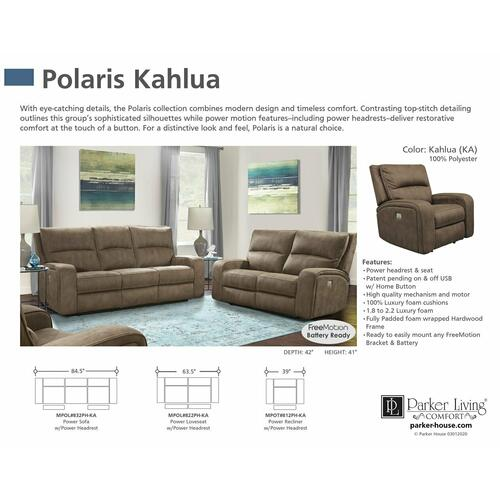 Parker House - POLARIS - KAHLUA Power Reclining Collection