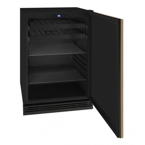 "Hbv124 24"" Beverage Center With Integrated Solid Finish (115v/60 Hz Volts /60 Hz Hz)"