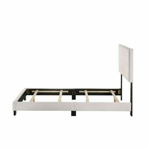 ACME Lien Twin Bed - 25716T - White PU