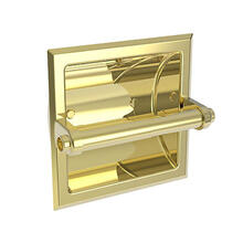 Forever Brass - PVD Recessed Toilet Tissue Holder