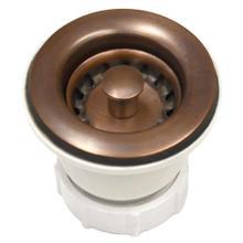 """See Details - DR220 2"""" Jr. Strainer in Solid Copper"""