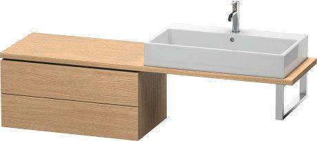 Low Cabinet For Console Compact, European Oak (decor)