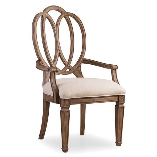 Hooker Furniture - Solana Wood Back Arm Chair - 2 per carton/price ea