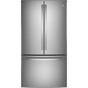 GE® ENERGY STAR® 28.7 Cu. Ft. Fingerprint Resistant French-Door Refrigerator - FINGERPRINT RESISTANT STAINLESS