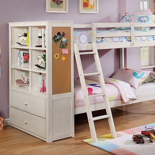 Cmbk266whttbed In By Furniture Of America In Ferriday La Twin Twin Bunk Bed Athena
