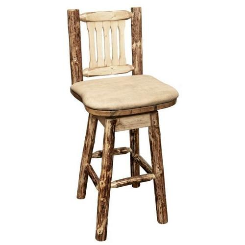 Montana Woodworks - Glacier Country Collection Barstool with Swivel Seat