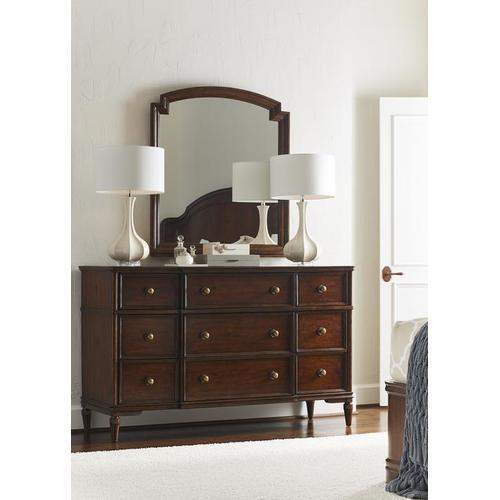 Stanley Furniture - Vintage Mirror - Vintage Cherry