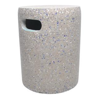 Pillar Cement Stool Grey