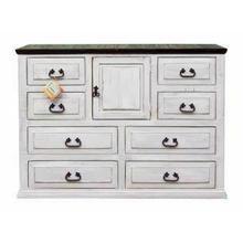 See Details - Wihte/coffee Econo Dresser
