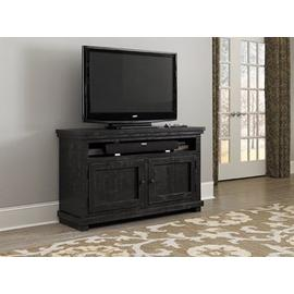 """See Details - 54\"""" Console - Distressed Black Finish"""