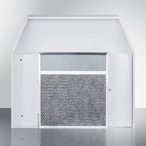 """Gallery - 20"""" Under Cabinet Convertible Range Hood, ADA Compliant"""