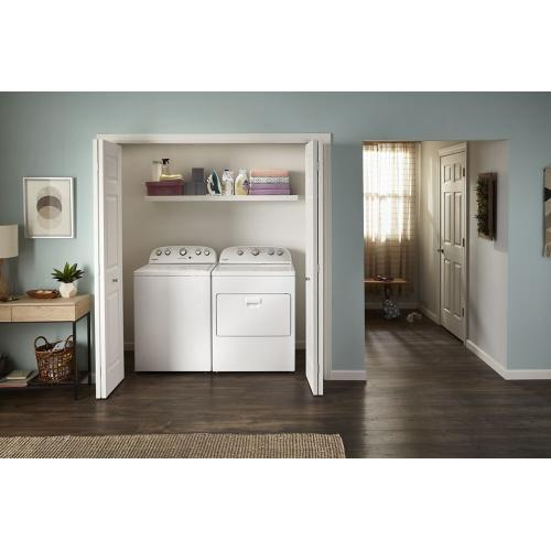 Whirlpool - 4.2 cu. ft. High-Efficiency Top Load Washer with Agitator