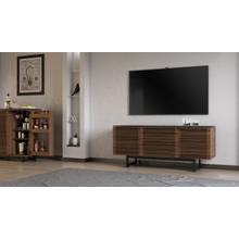 View Product - Corridor 8177 Media Console in Natural Walnut