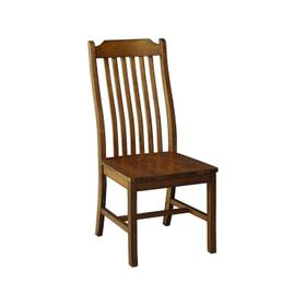 Steambent Mission Chair in Pecan