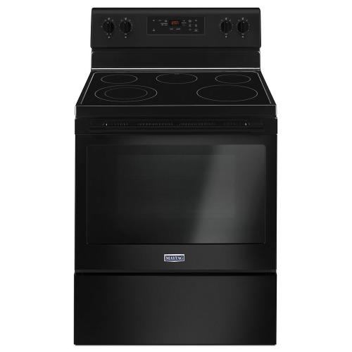 Maytag® 30-Inch Wide Electric Range With Shatter-Resistant Cooktop - 5.3 Cu. Ft.