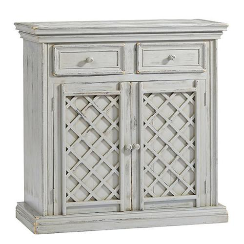 Accent Cabinet - Antique Gray Finish