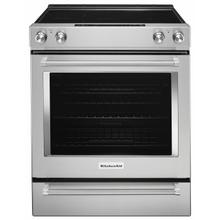 See Details - 30-Inch 5-Element Electric Slide-In Convection Range - Stainless Steel
