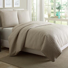 3pc King Duvet Set Natural