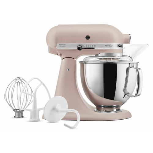 Gallery - Artisan® Series 5 Quart Tilt-Head Stand Mixer - Feather Pink