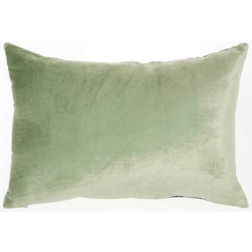 """Luminescence Ac229 Teal 14"""" X 20"""" Throw Pillow"""