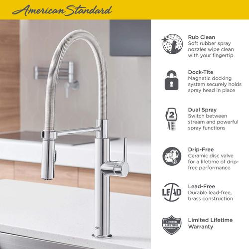 Studio S Semi-Pro Kitchen Faucet  American Standard - Stainless Steel