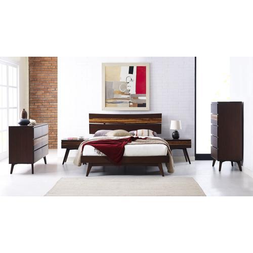 Greenington Fine Bamboo Furniture - Azara Eastern King Platform Bed, Sable