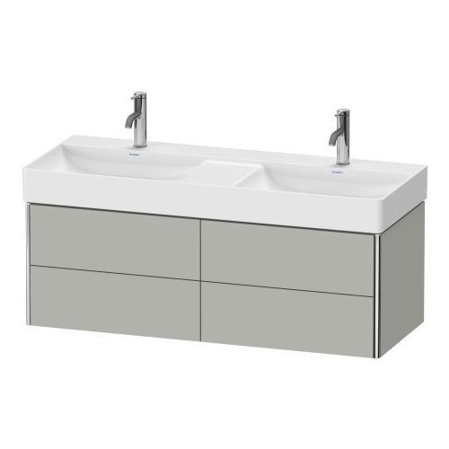 Duravit - Vanity Unit Wall-mounted, Concrete Gray Matte (decor)