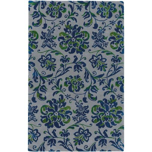 Monte Carlo Silver Nautical Blue Hand Tufted Rugs
