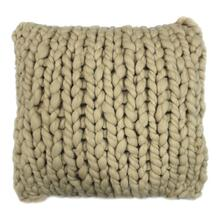 Abuela Wool Feather Cushion Sand 20x20