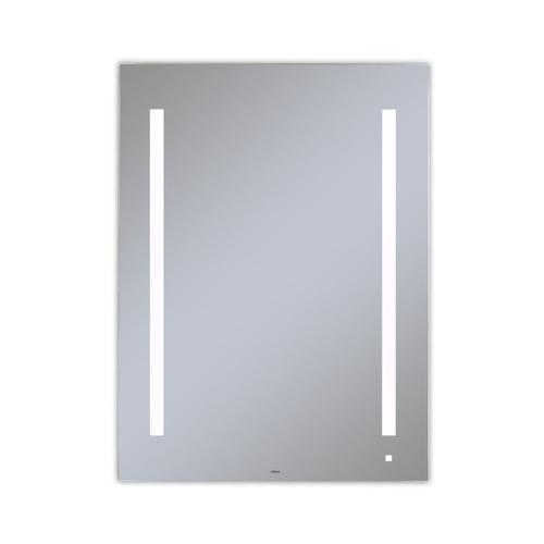 "Aio 29-1/8"" X 39-1/4"" X 1-1/2"" Lighted Mirror With Lum Lighting At 4000 Kelvin Temperature (cool Light), Dimmable and Usb Charging Ports"