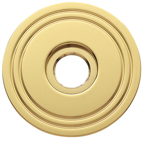 Baldwin - Non-Lacquered Brass 5047 Estate Rose