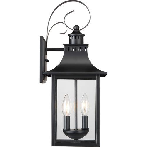 Quoizel - Chancellor Outdoor Lantern in Mystic Black