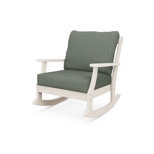 Sand & Cast Sage Braxton Deep Seating Rocking Chair