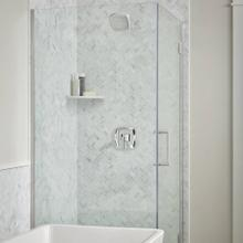 See Details - Crawford 2.5 GPM Shower Trim Kit with Lever Handle  American Standard - Polished Chrome