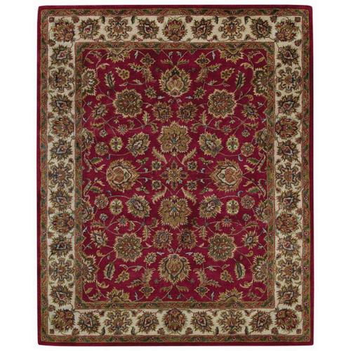 Regal-Persian Red Ivory - Rectangle - 2' x 3'