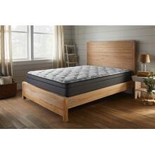 "American Bedding 15"" Medium Firm Euro Top Mattress, King"