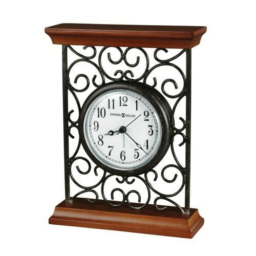 Howard Miller Mildred Alarm & Table Clock 645632