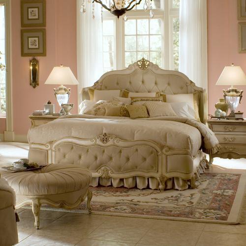 Amini - Cal King Wing Mansion Bed