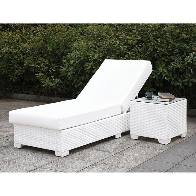 Somani 2 ADJ Chaise + End Table