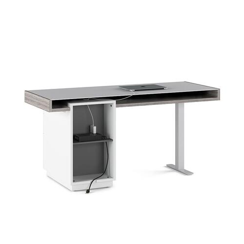 Desk File 6241 in Platinum Satin Gray